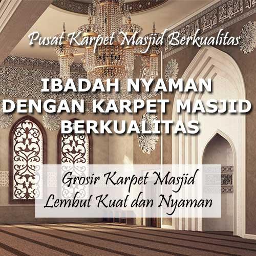 pusat karpet masjid