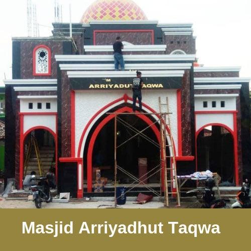 masjid arriyaduth taqwa