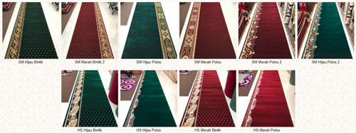 motif karpet masjid