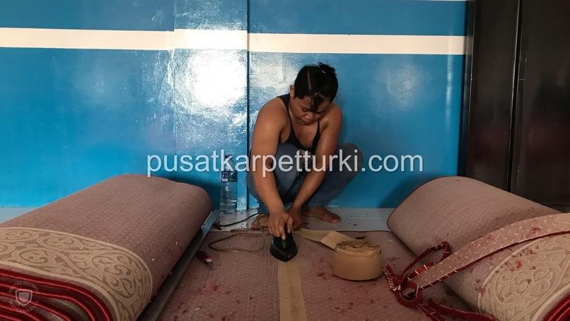 sambung karpet masjid