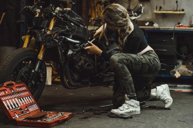 usaha rumahan bengkel motor