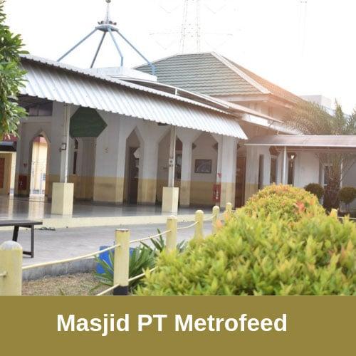 masjid pt metrofeed