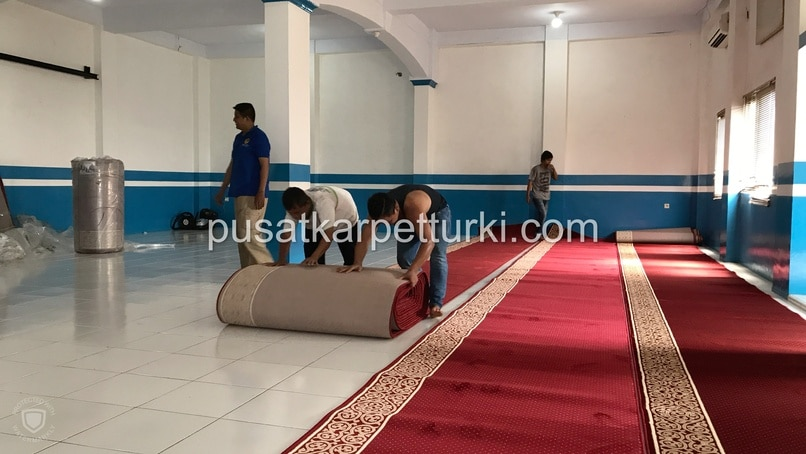 karpet masjid platinum mosque