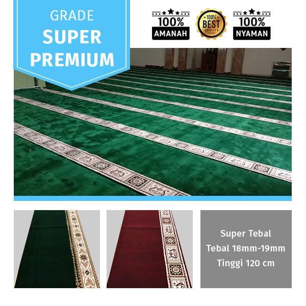 karpet masjid tebal