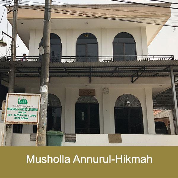 musholla an-nurul hikmah