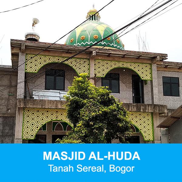 masjid al-huda tanah sereal bogor