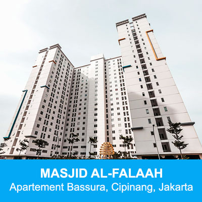 masjid apartemen bassura