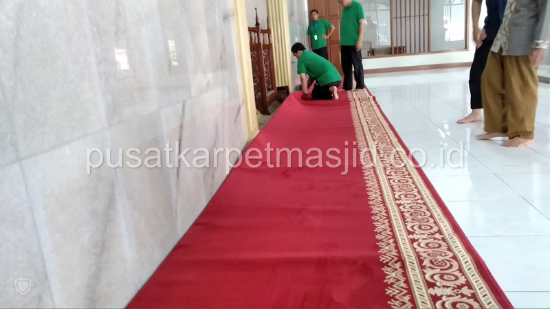 karpet masjid grand mosque