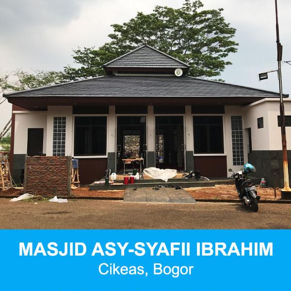 masjid asy syafii ibrahim