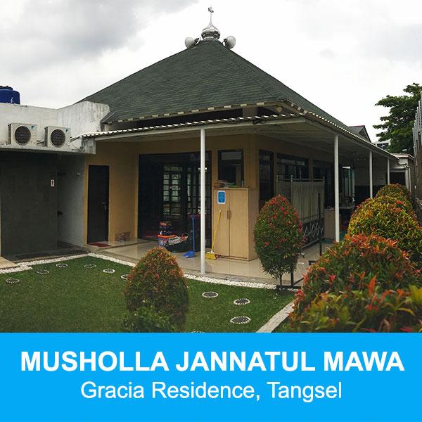 musholla jannatul mawa gracia residence