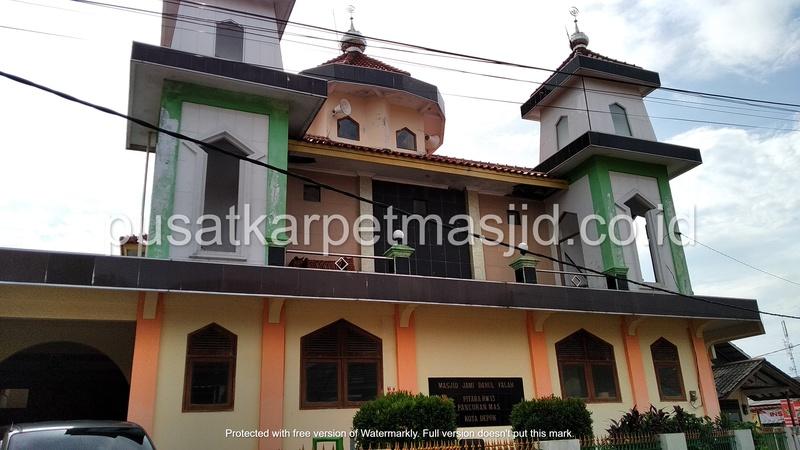 masjid jami darul falah pancoran depok