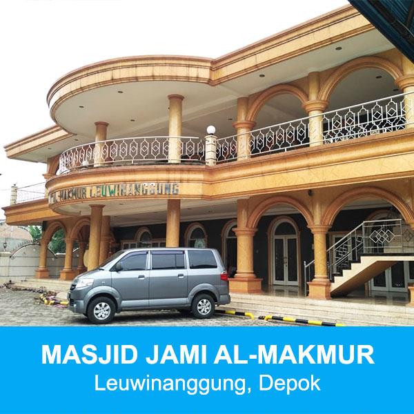masjid jami al-makmur depok